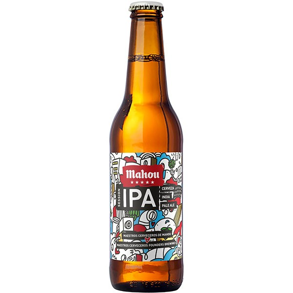 Mahou India Pale Ale 0.33 LT
