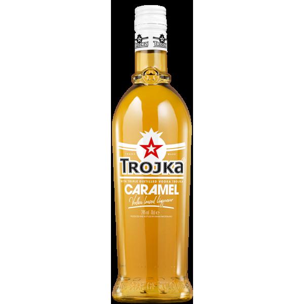 Trojka Caramel Vodka Liqueur 0.70 LT