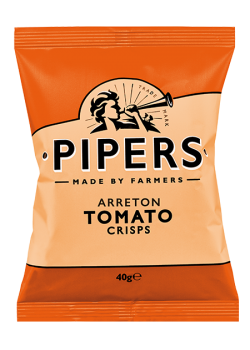 Pipers Tomato Crisps 150 gr